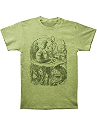 Alice's Adventures In Wonderland Caterpillar Adult Fitted Jersey T-Shirt Tee