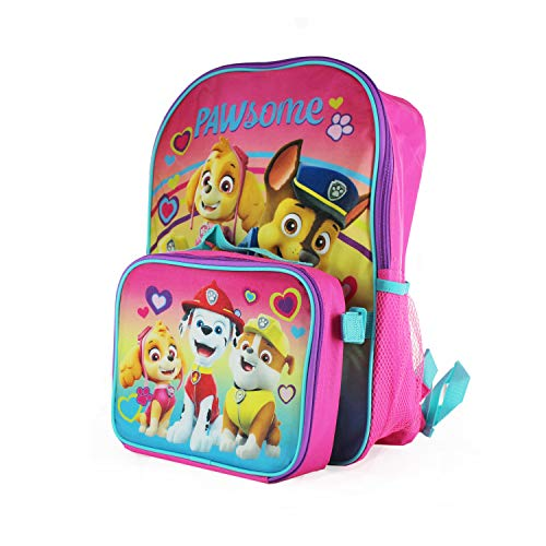 [해외]16 Kids` Nickelodeon Paw Patrol Backpack with Removable Lunch Bag - Pink / 16 Kids` Nickelodeon Paw Patrol Backpack with Removable Lunch Bag - Pink