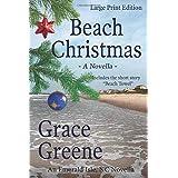 Beach Christmas (Large Print): An Emerald Isle, NC Christmas Novella (Grace Greene's Large Print Books)
