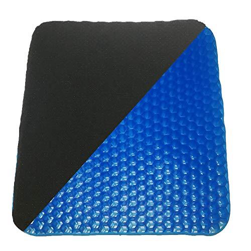 - Gel Seat Cushion Non Slip Cover Chair Cushion for Office, Truck Driver, Car, Wheelchair, Double Design Seat Cushion