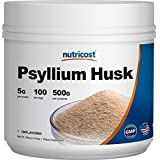 Nutricost Psyllium Husk Powder 500 Grams, 5g Per Serving