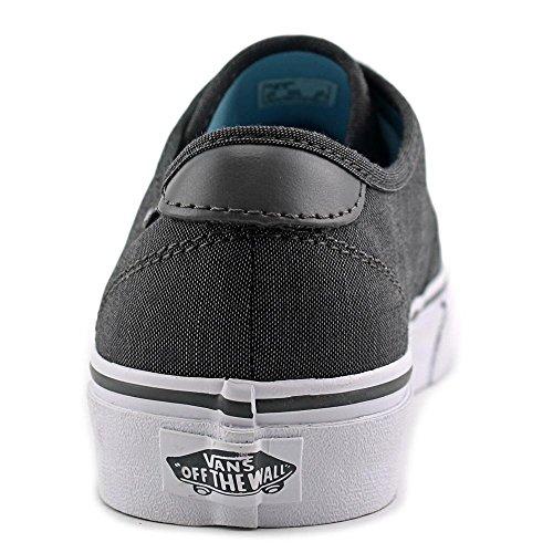 Vans Camden Deluxe Mujer Us 7 Grey Sneakers