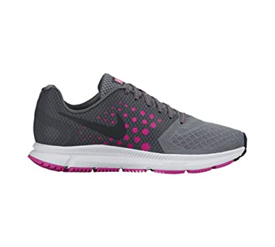 Nike Women's WMNS ZOOM SPAN, Cool Grey / Black - Fire Pink, ...