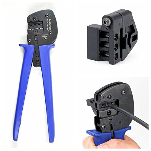 VIKOCELL A-2546B Solar Crimping Pliers Tools MC3 MC4 Connector Terminal Crimper for Solar Panel Cable System by VIKOCELL