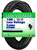 Coleman Cable 095136208 12/2 Low Voltage Lighting Cable, 100-Feet