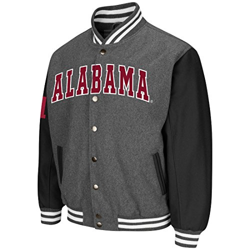 Twill Letterman Jacket - Alabama Crimson Tide NCAA Men's