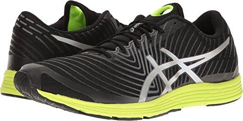 ASICS Men's Gel-Hyper Tri 3 Running Shoe, Black/Silver/Safety Yellow, 10 M - Sports Running Tri