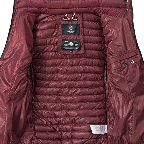 Trapuntata Xs Giacca Samtpfote xxl Bordeaux 15 Mezza Stagione Colori Donna Rosso Marikoo Da gdvd6rz
