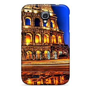 Special GeorgeLife Skin Case Cover For Galaxy S4, Popular Colosseum By Night Phone Case