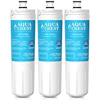 AQUACREST 640565 Replacement Refrigerator Water Filter, Compatible with Bosch 640565 EVOLFLTR10 AP3961137, Whirlpool WHKF-R-PLUS (Pack of 3)