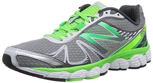 New Balance M880 D V4 - Zapatillas de Running de canvas hombre Plata - Argent (Gs4 Silver/Green)