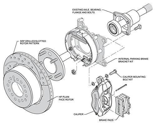 Diagram Of Rotors Calipers