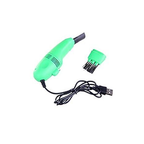 Ballylelly Portátil Mini USB Limpiador de Teclado de Vacío Colector de Polvo LAPTOP Limpiador de Teclado