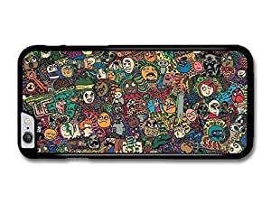 AMAF ? Accessories Meme Collage Coloured Faces Emoji Stickerbomb case for iphone 5 5s