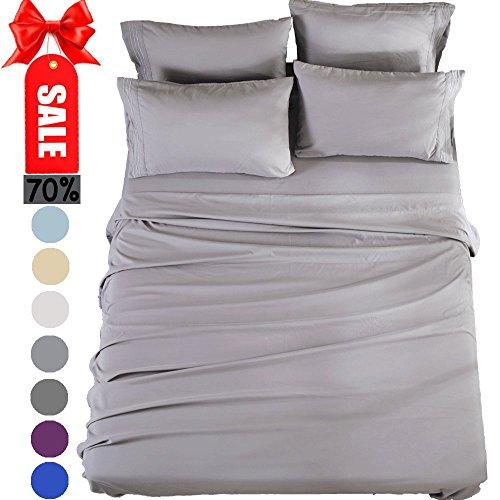 Bed Sheets Set Twin Xl Sheets Microfiber Super Soft 1800 Thr