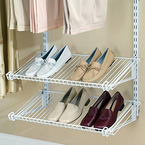 Rubbermaid Configurations Add-On Shoe Shelf Kit - White