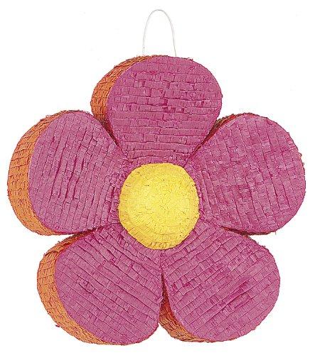 Pink Daisy Flower Pinata]()