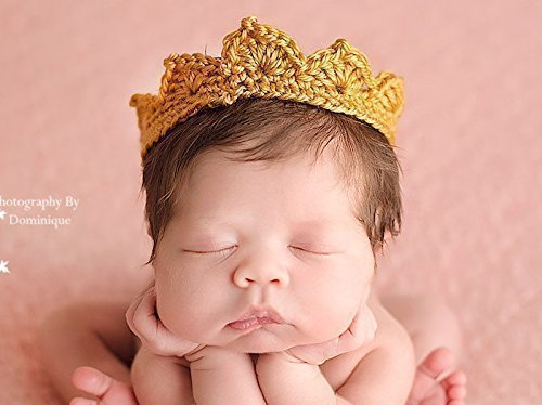 Newborn Crown, Gender Neutral Photo Prop, All Sizes]()