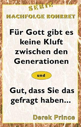 Serie Nachfolge Konkret: Für Gott gibt es keine Kluft zwischen den Generationen/Gut, dass Sie das gefragt haben.