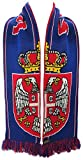 World Cup Soccer Serbia International Soccer Scarf, Red, One Size