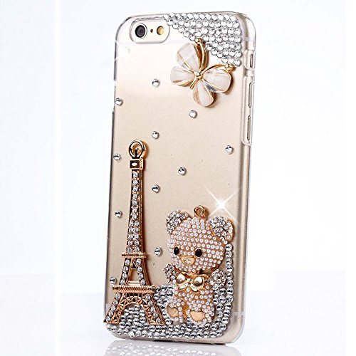 ipod-touch-6th-generation-case-stenes-luxurious-crystal-3d-handmade-sparkle-diamond-rhinestone-clear
