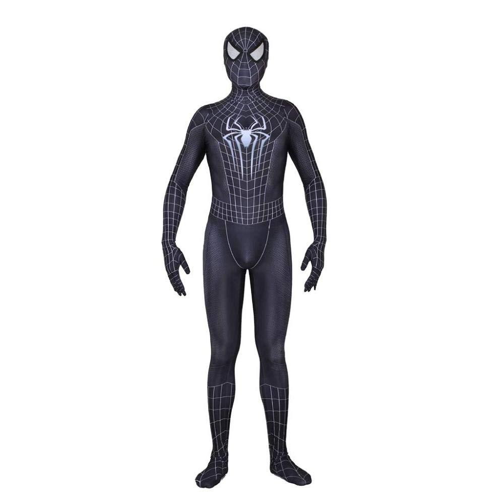 Spiderman Small SpiderMan Venom Costume Role Play Bodysuit Jumpsuits Attire Movie Game Cosplay PropTema De Halloween Fiesta Props,Spidermans
