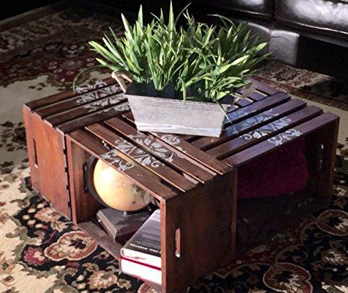 Henna Tattoo Storage Pallet Crate (Garden Furniture Pallet Table)