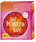 Die Mantrabox (Box mit Karten, Booklet und Audio-CD): 50 heilende Mantras für Körper, Geist und Seele (GU Buch plus Körper, Geist & Seele)