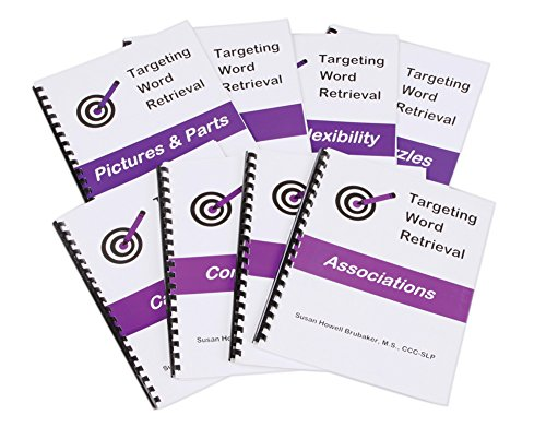 Targeting Word Retrieval: Book 5 Pictures and Parts by AliMed