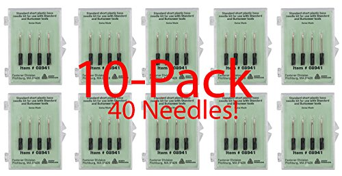 Avery Dennison Standard Tagging Gun Replacement Needles,10-Pack - Each Pack Contains 4 Needless for a Total of 40 Genuine Avery Dennison # 08941 Needles