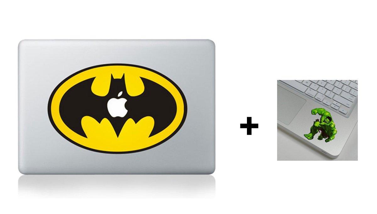 b11f6592c8ab Batman Logo Marvel Comic League Of Justice 13 15 17 inch Air Pro Cool  Design Colored Black White Macbook Sticker Decal Vinyl Skin Cover Laptop  -Buy 2 ...