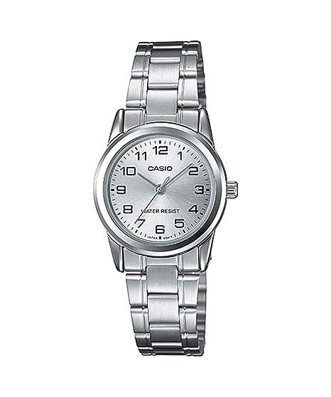9fa109edfa39 CASIO Reloj con Movimiento Cuarzo LTP-V001D-7  Amazon.es  Relojes