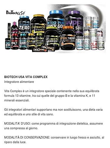 Biotech USA Vita Complex Vitaminas y Minerales - 800 gr: Amazon.es: Salud y cuidado personal