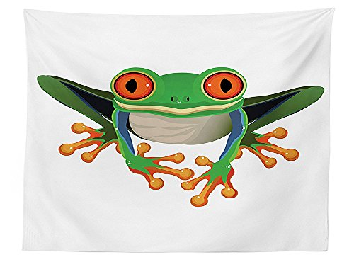 Tree Frog Coloring - 7