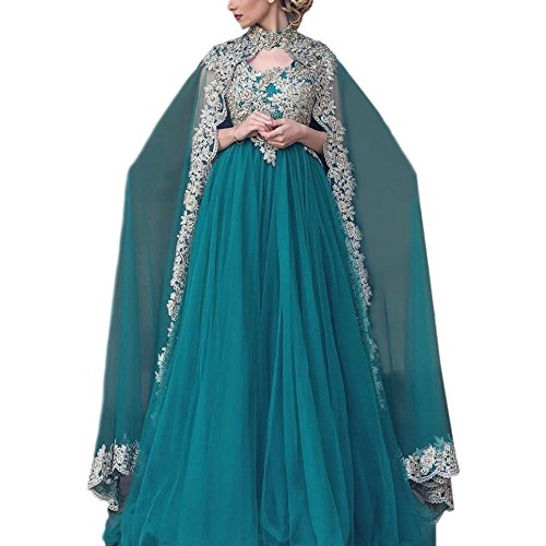 AbaoWedding Appliques Formal Muslim Evening product image