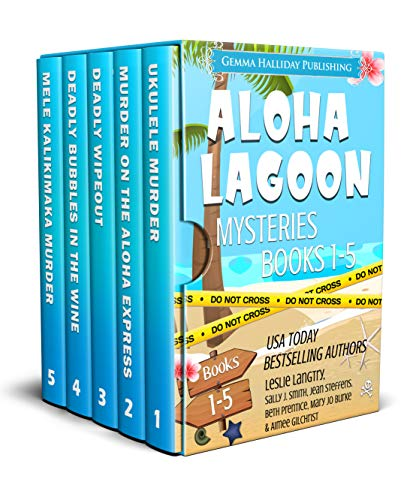 Aloha Lagoon Mysteries Boxed Set (Books 1-5) by [Langtry, Leslie, Smith, Sally J., Steffens, Jean, Prentice, Beth, Burke, Mary Jo, Gilchrist, Aimee]