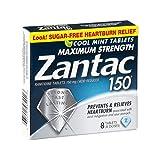 Zantac 150 Maximum Strength Heartburn Relief Cool Mint Tablets