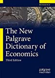 img - for The New Palgrave Dictionary of Economics book / textbook / text book