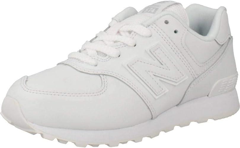 New Balance, GC574, Zapatillas Blancas para Mujer