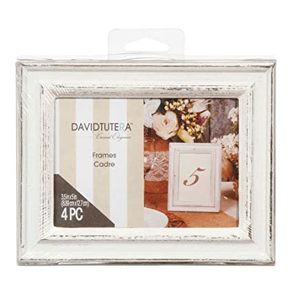 Amazon.com: Bulk Buy: Darice DIY Crafts David Tutera Whitewash Frame ...