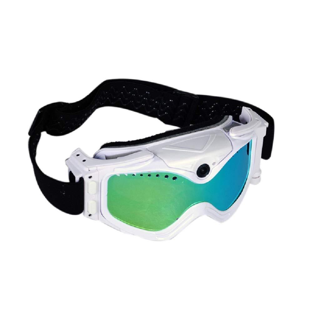 YLOVOW Videobrille-Sonnenbrille, professionelle Spiegelkamera mit doppeltem Anti-Fog-Spiegel, Mobile pour téléphone Portable pour Mobile