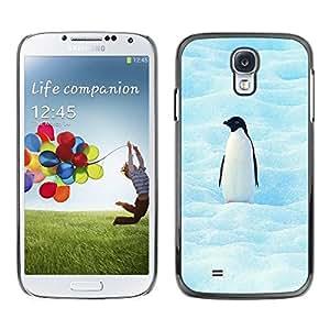 PC/Aluminum Funda Carcasa protectora para Samsung Galaxy S4 I9500 Cool Penguin / JUSTGO PHONE PROTECTOR