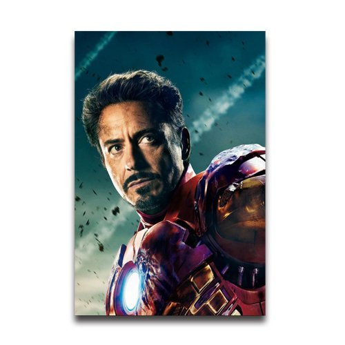The Avengers Iron Man Robert Downey Jr Custom Poster paper