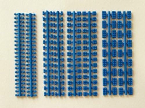プラモブロック 基本4種アソートセット ブルー BU