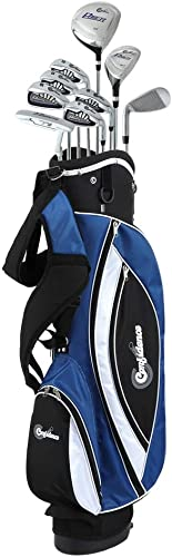 Confidence Golf Mens Power V3 Hybrid Club Set Stand Bag