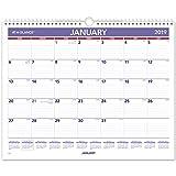 AT-A-GLANCE 2019 Monthly Wall Calendar, 15' x 12', Medium, Wirebound (PM828)