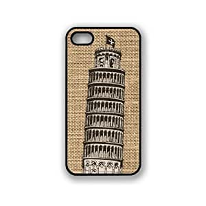 Tower Of Pisa On Burlap iPhone 5 & 5S Case - Fits iPhone 5 & 5S
