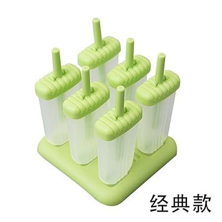 Compra Feng Ice Cream Molde Helado Paleta Popsicle Ice Cube Ice ...