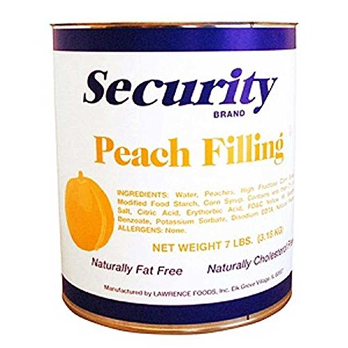 Security Peach Filling, no.10 Can -- 6 per case. by Lawrence Foods