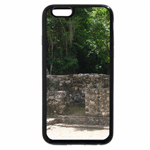 iPhone 6S / iPhone 6 Case (Black) Mayan Ruins Coba